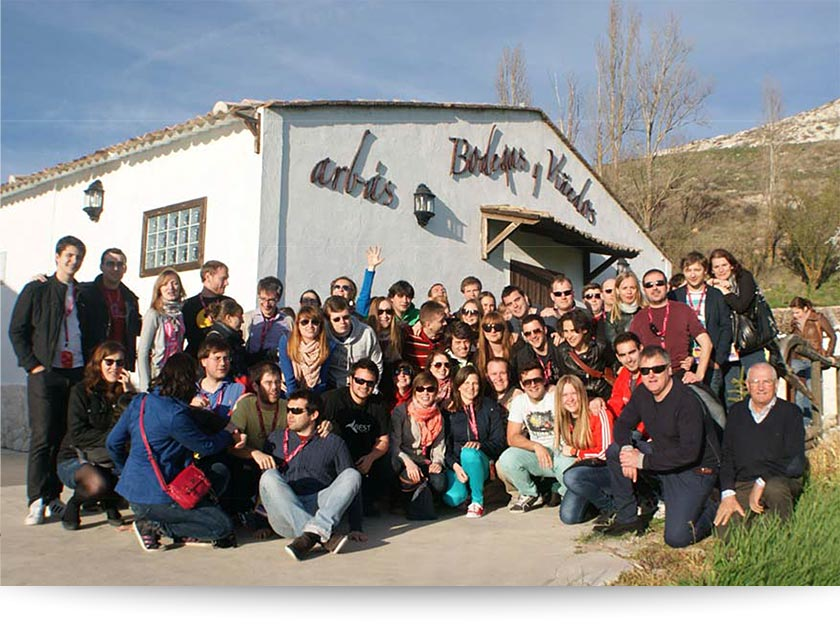 Boreau of European Students of Technology visita Bodegas Arbás